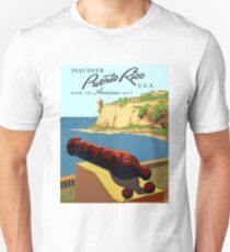 Vintage Discover Puerto Rico WPA Unisex T-Shirt