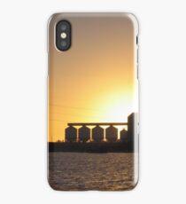 Sunset Silos iPhone Case
