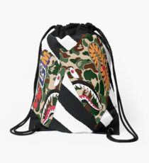 Off-Bape Drawstring Bag
