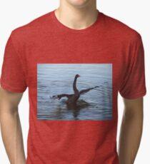 Not drowning, waving. Tri-blend T-Shirt