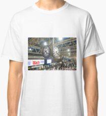 London Waterloo Station Clock Classic T-Shirt