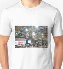 London Waterloo Station Clock T-Shirt