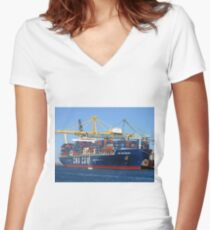 David & Goliath Women's Fitted V-Neck T-Shirt