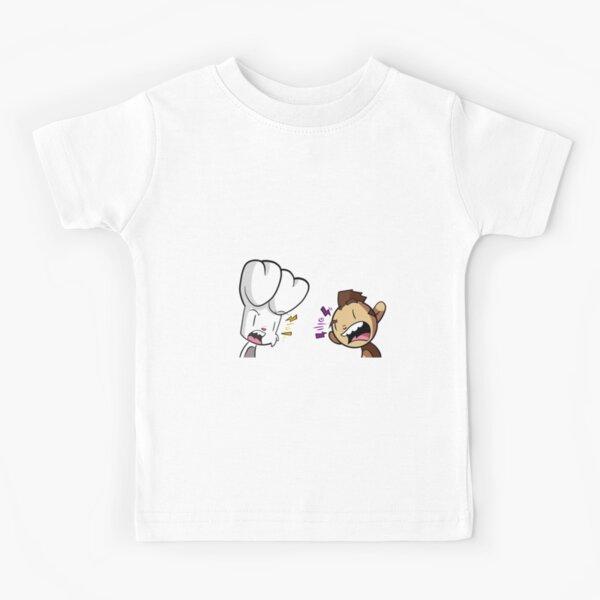 Bunny vs Monkey Kids T-Shirt