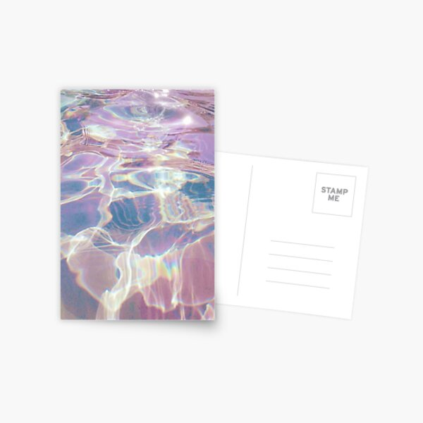 Holographic Waters Postcard