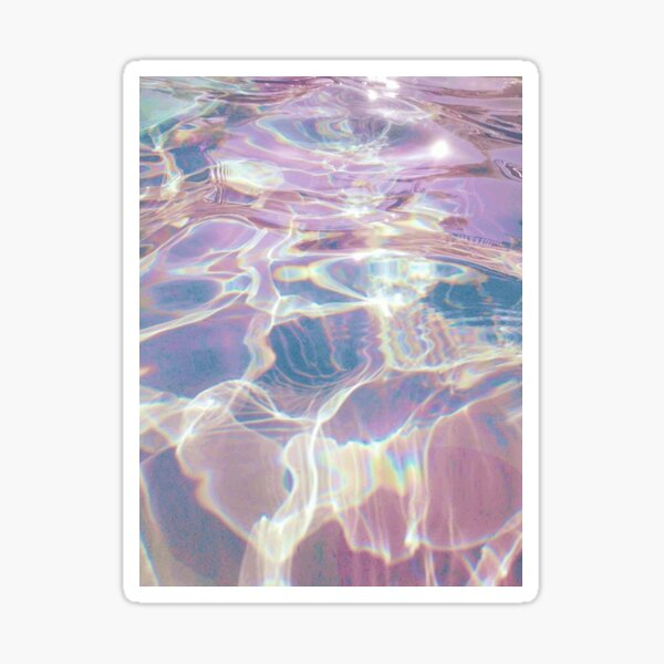 Holographic Waters Sticker