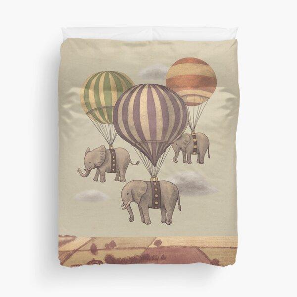 Flight of The Elephants  Duvet Cover
