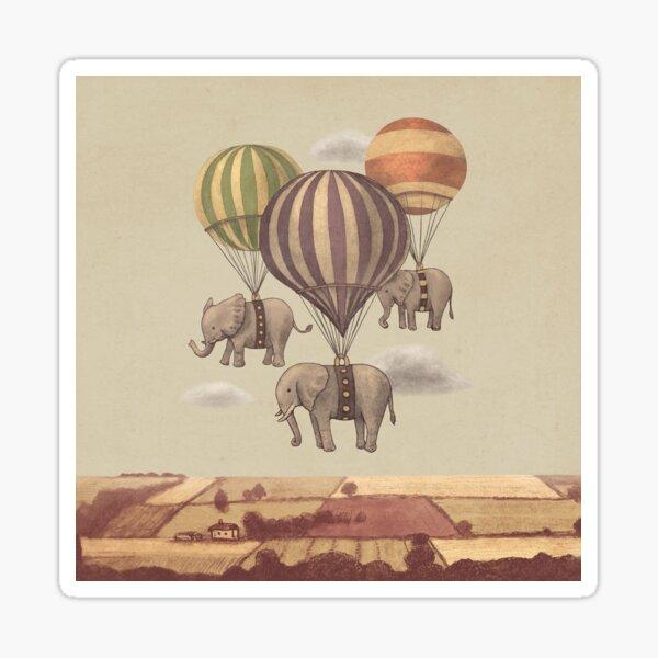 Flight of The Elephants  Sticker