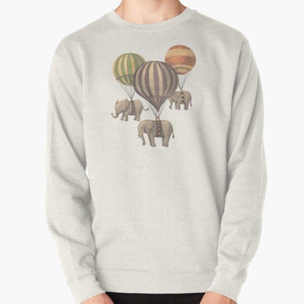Flight of The Elephants  Pullover Sweatshirt
