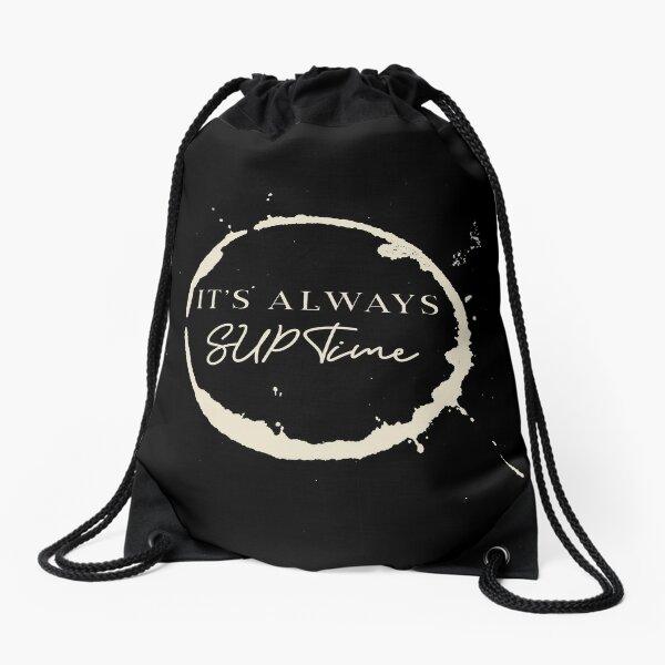 Always SUP Time Drawstring Bag