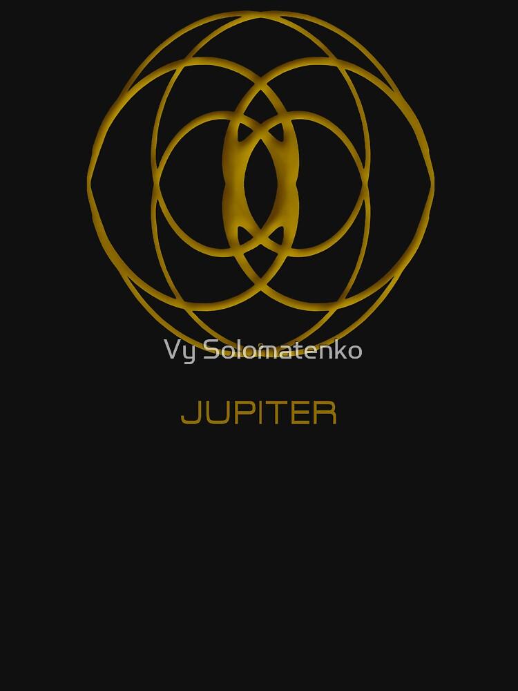 Astrology Symbol For Jupiter by vysolo
