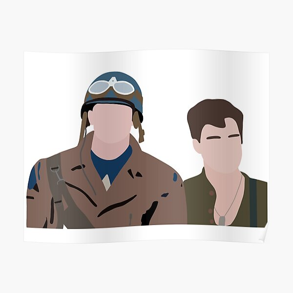 Steve and Bucky Poster