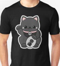 Kuroi Maneki Neko Unisex T-Shirt