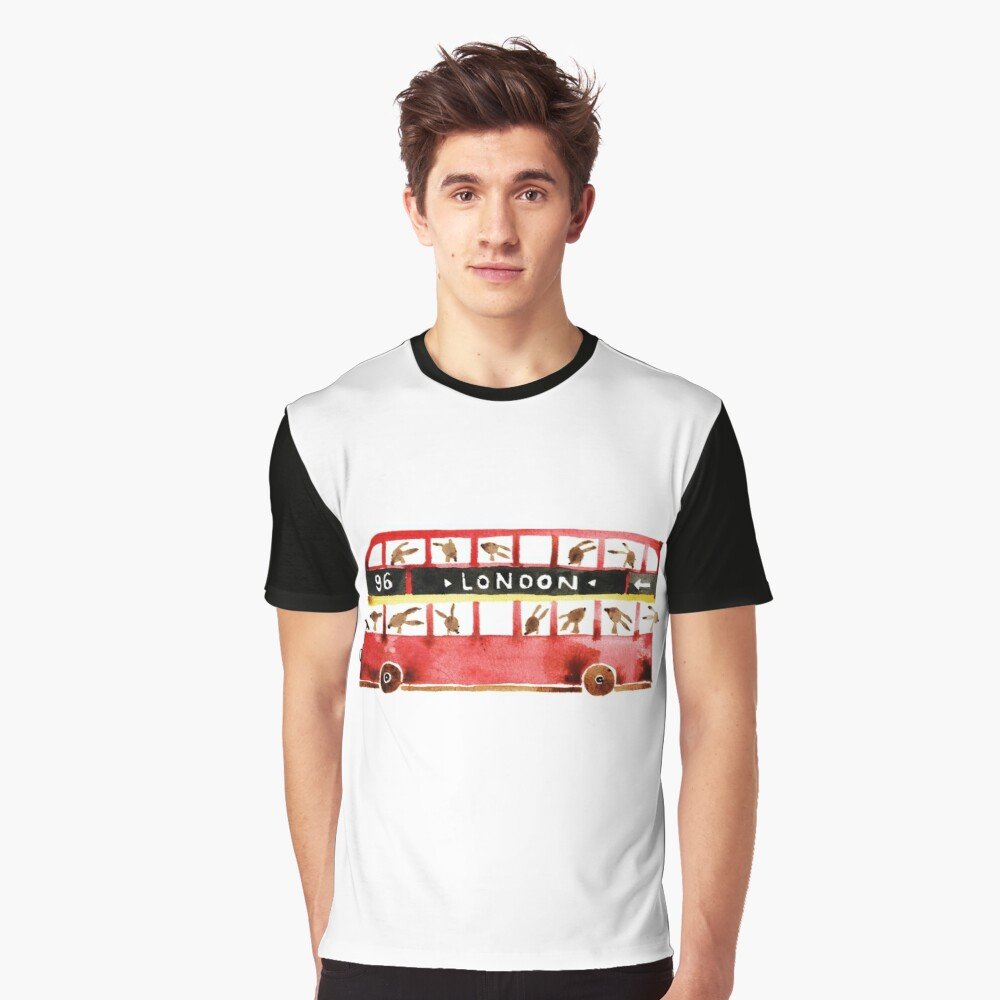 Bunny in London Graphic T-Shirt