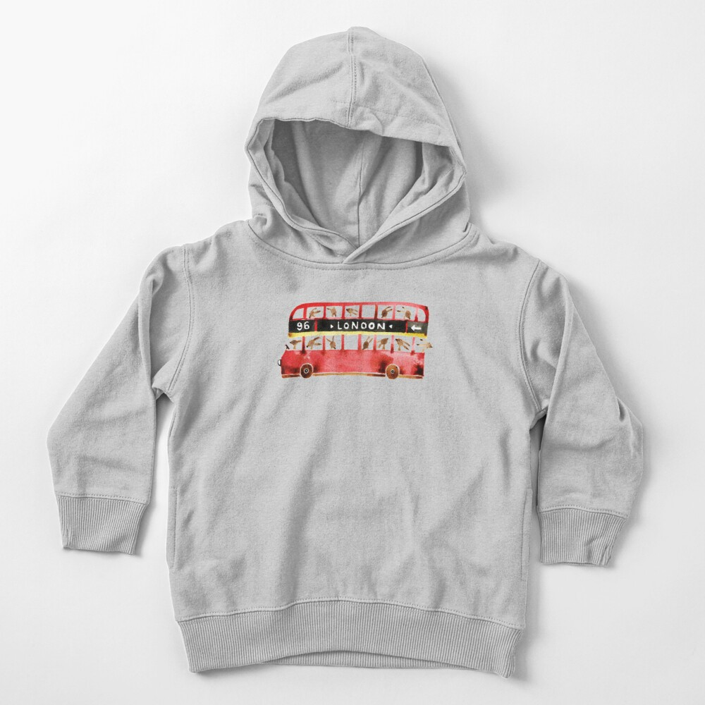Bunny in London Toddler Pullover Hoodie