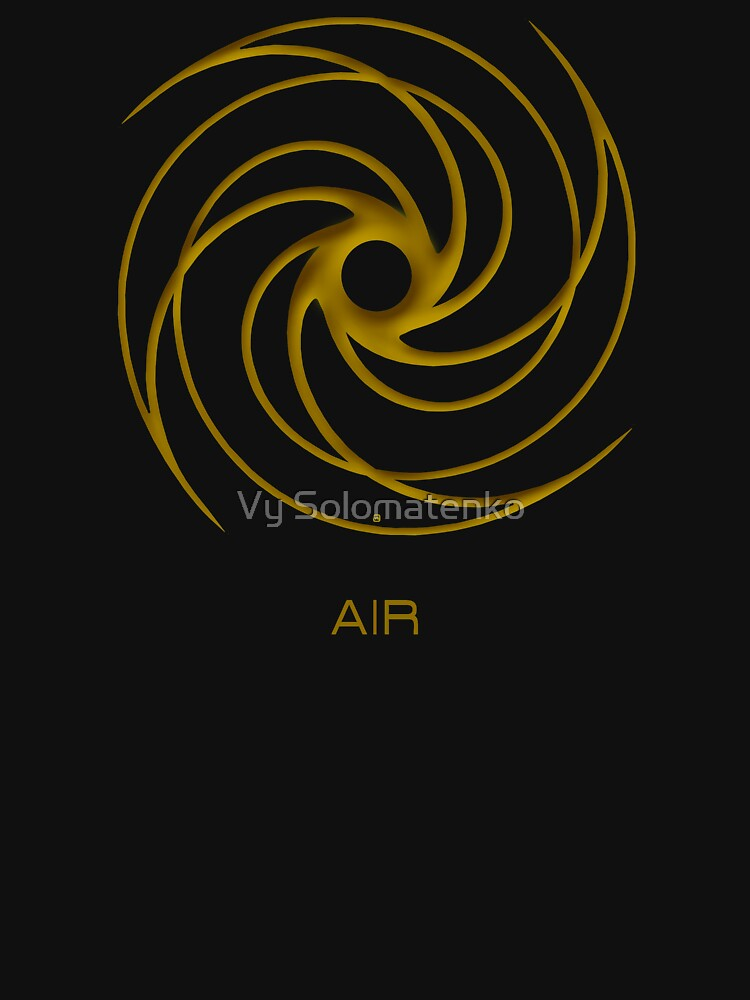 Astrology Symbol For Air by vysolo