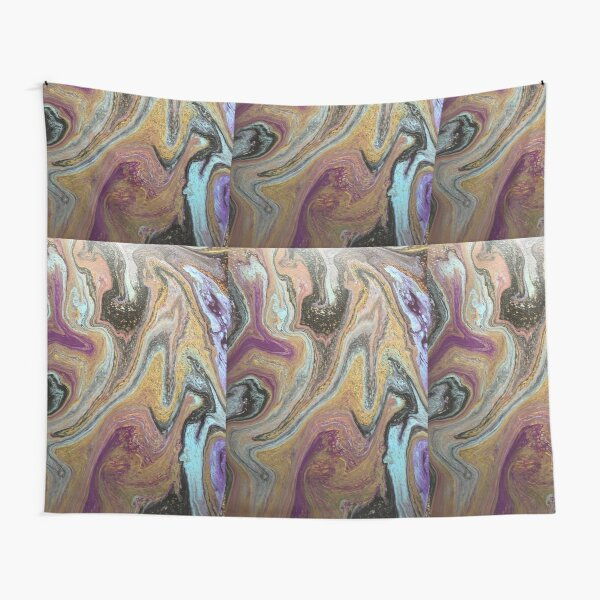 Modern Starry Night  Tapestry