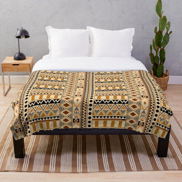 Aztec Tribal Print Throw Blanket