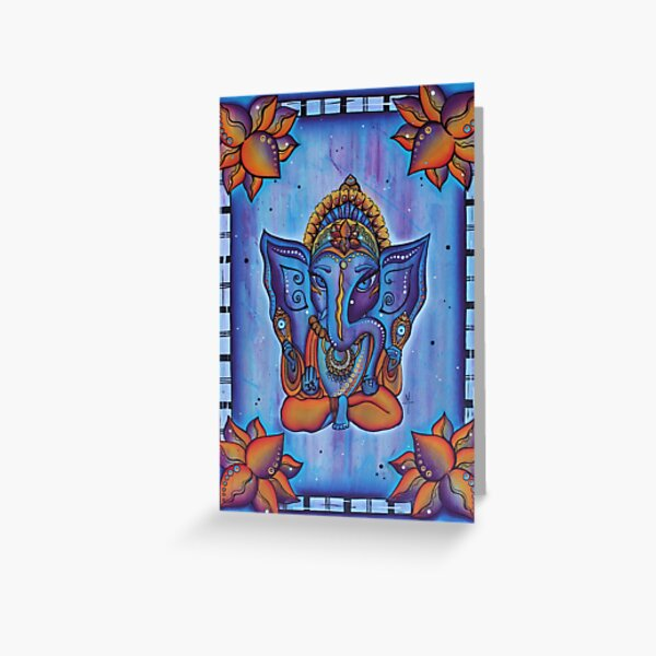 Ganesha, Remover of Obstacles Greeting Card