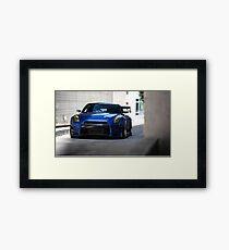 OverBunny R35 GTR Framed Print