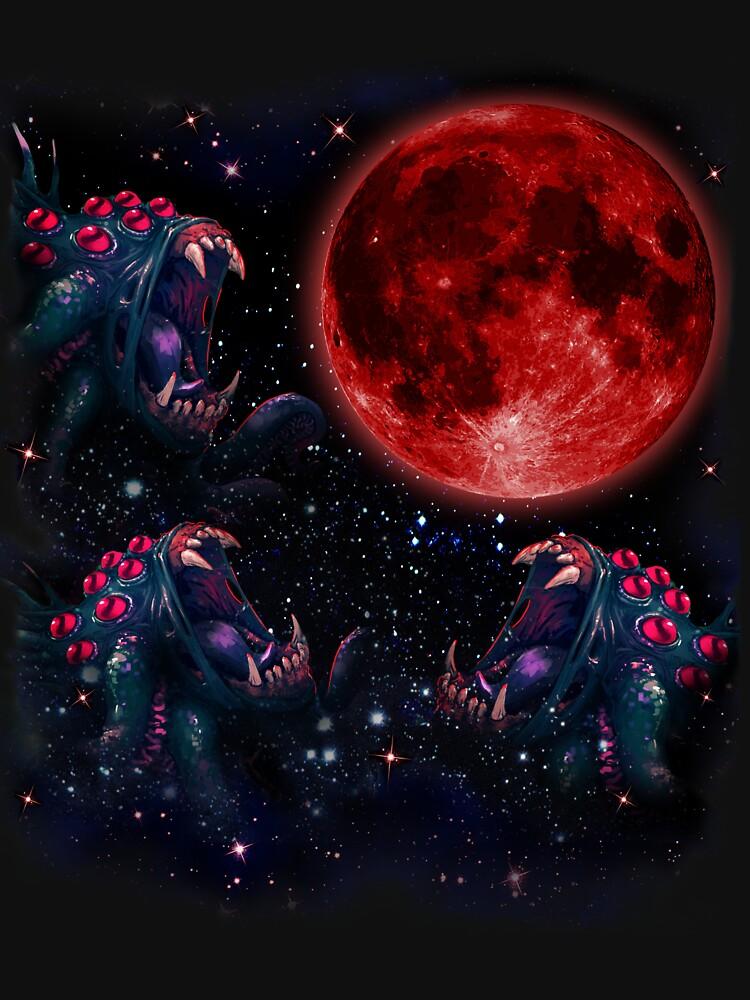 3 Shambler Moon - Darkest Dungeon by voodooval