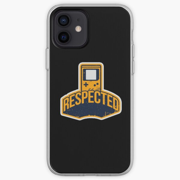 Respected In Gaming Design For Gamer iPhone Soft Case