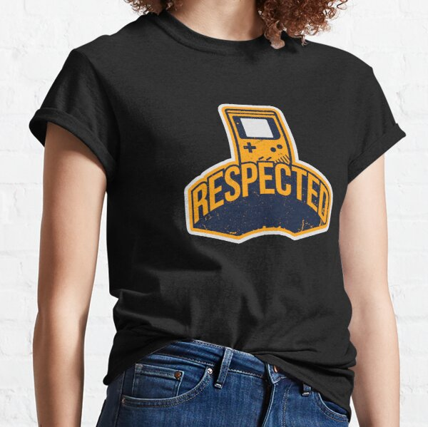 Respected In Gaming Design For Gamer Classic T-Shirt