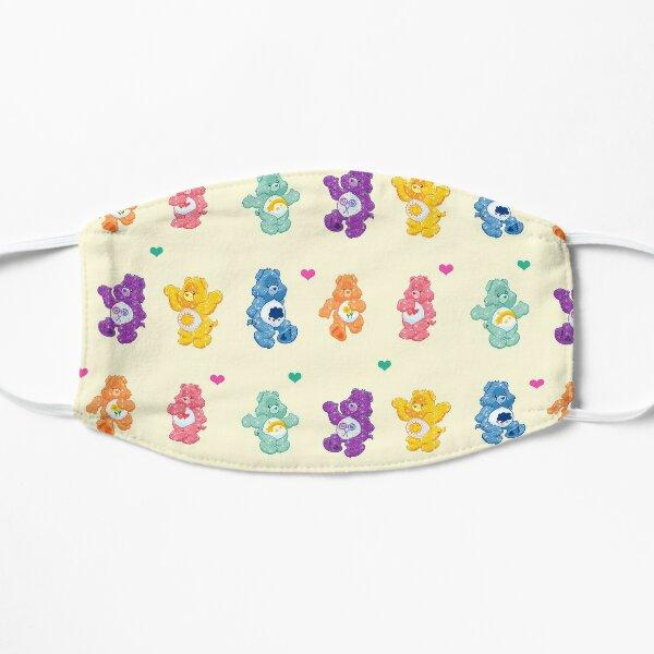 Colorful Glitter Bears  Flat Mask