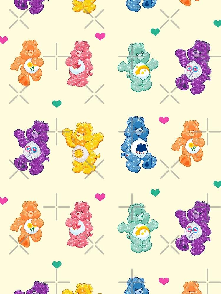 Colorful Glitter Bears  by Joejo19