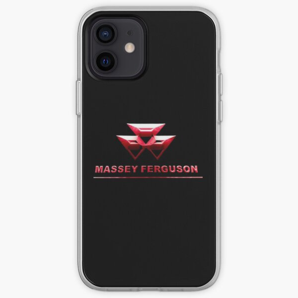 MASSEY FERGUSON - Logo Premium authentique et actuel Coque souple iPhone