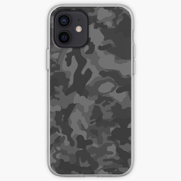Black Camouflage Pattern iPhone Case & Cover Phone Case & Cover iPhone Soft Case
