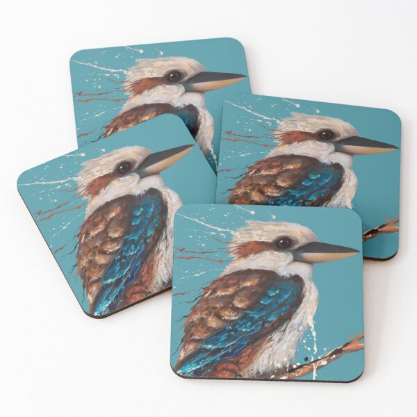 Kookaburra Coasters (Set of 4)