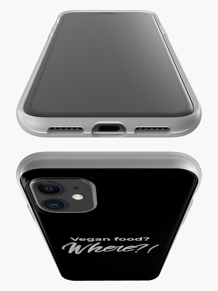 Alternate view of Vegan Food? Where? iPhone Case & Cover
