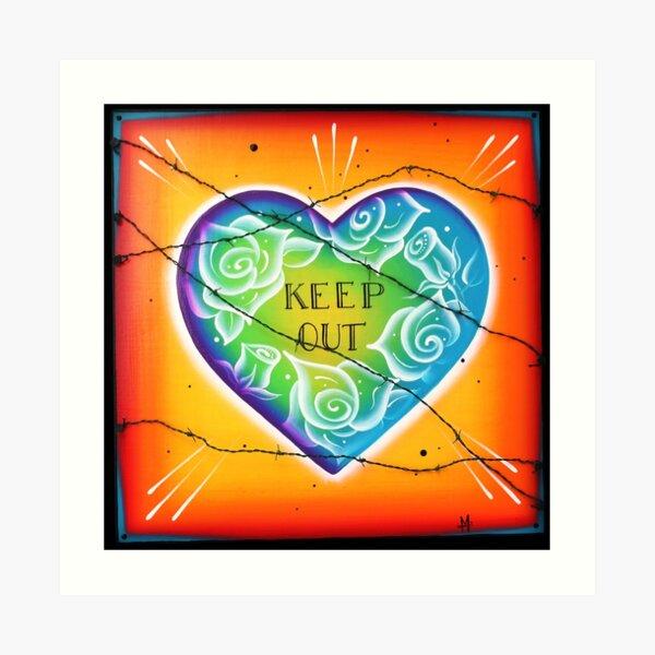 No Love Art Print