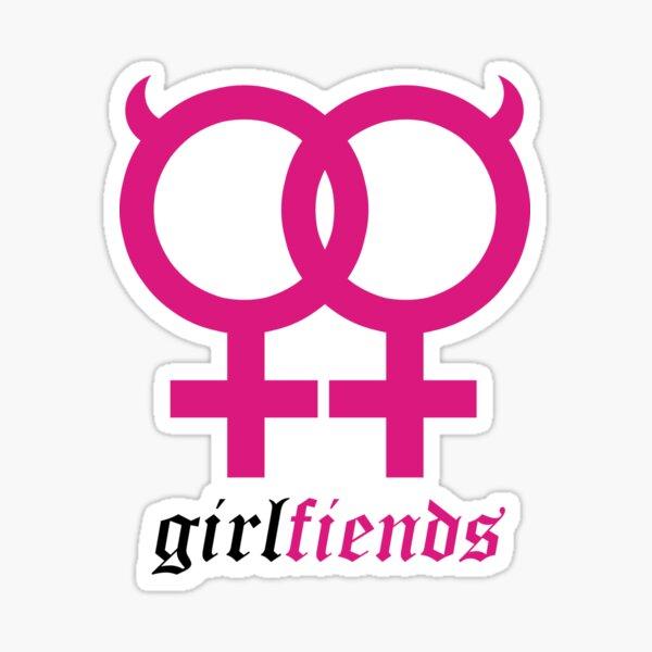 Girl Fiends Sticker