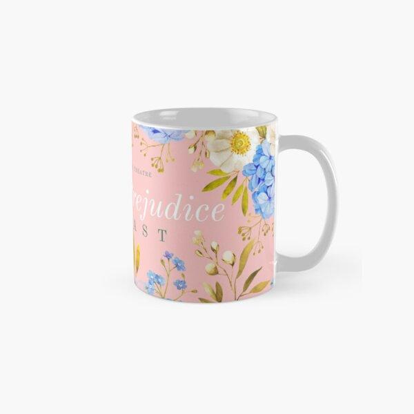 Pink Hydrangea Pride and Prejudice Classic Mug