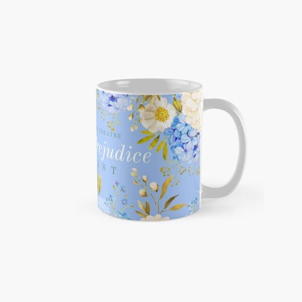 Blue Hydrangea Pride and Prejudice Classic Mug