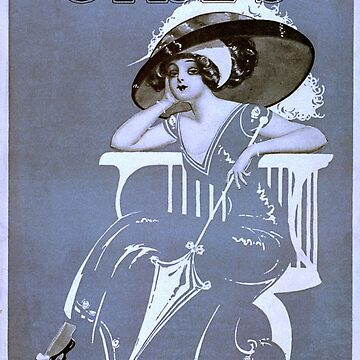 Vintage poster - Girls by mosfunky