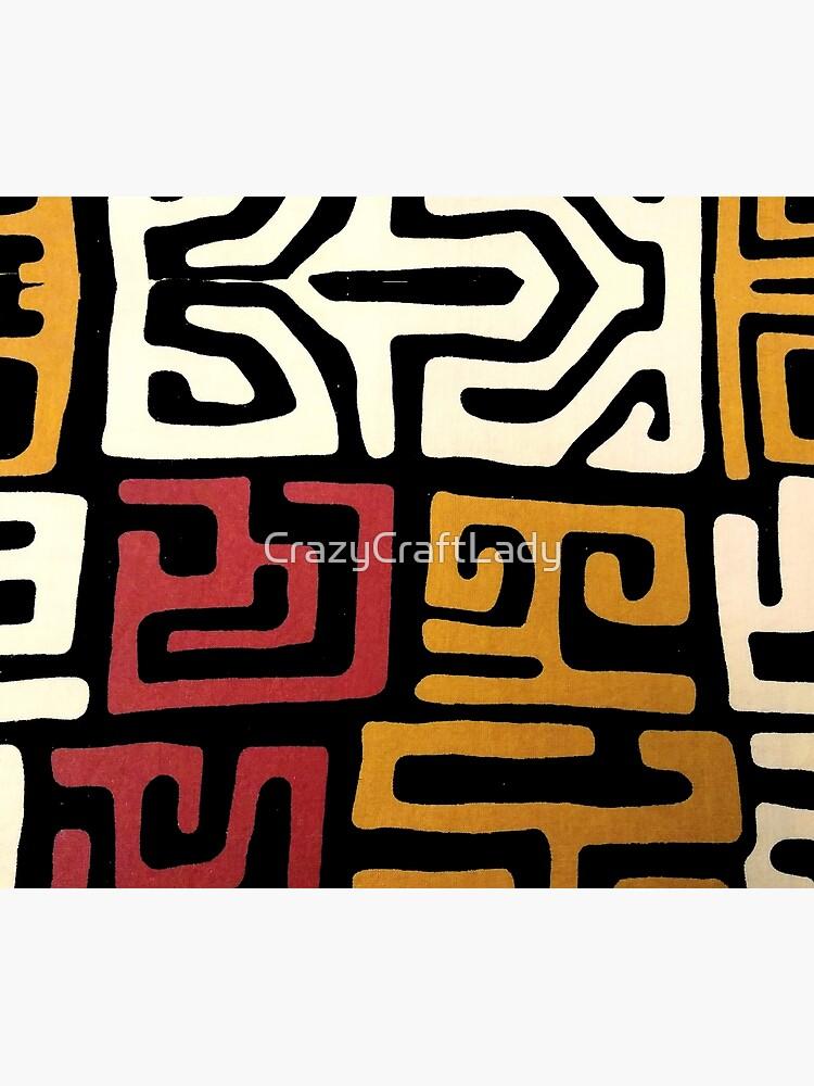 African Mudcloth by CrazyCraftLady