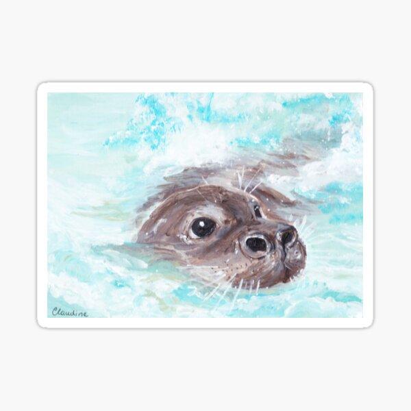 Otter Time Sticker