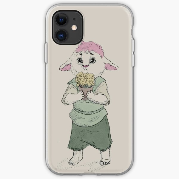 he's a flower iPhone Soft Case