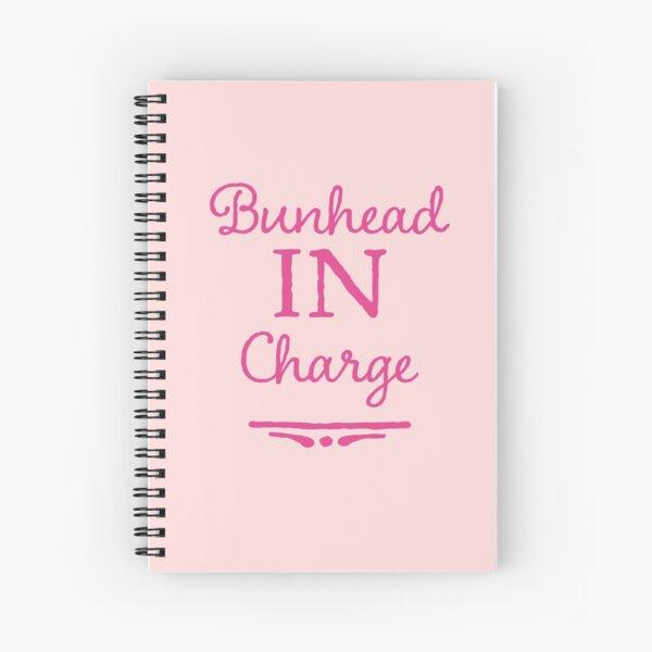 Ballet Teacher Gift - Bunhead in Charge  Spiral Notebook