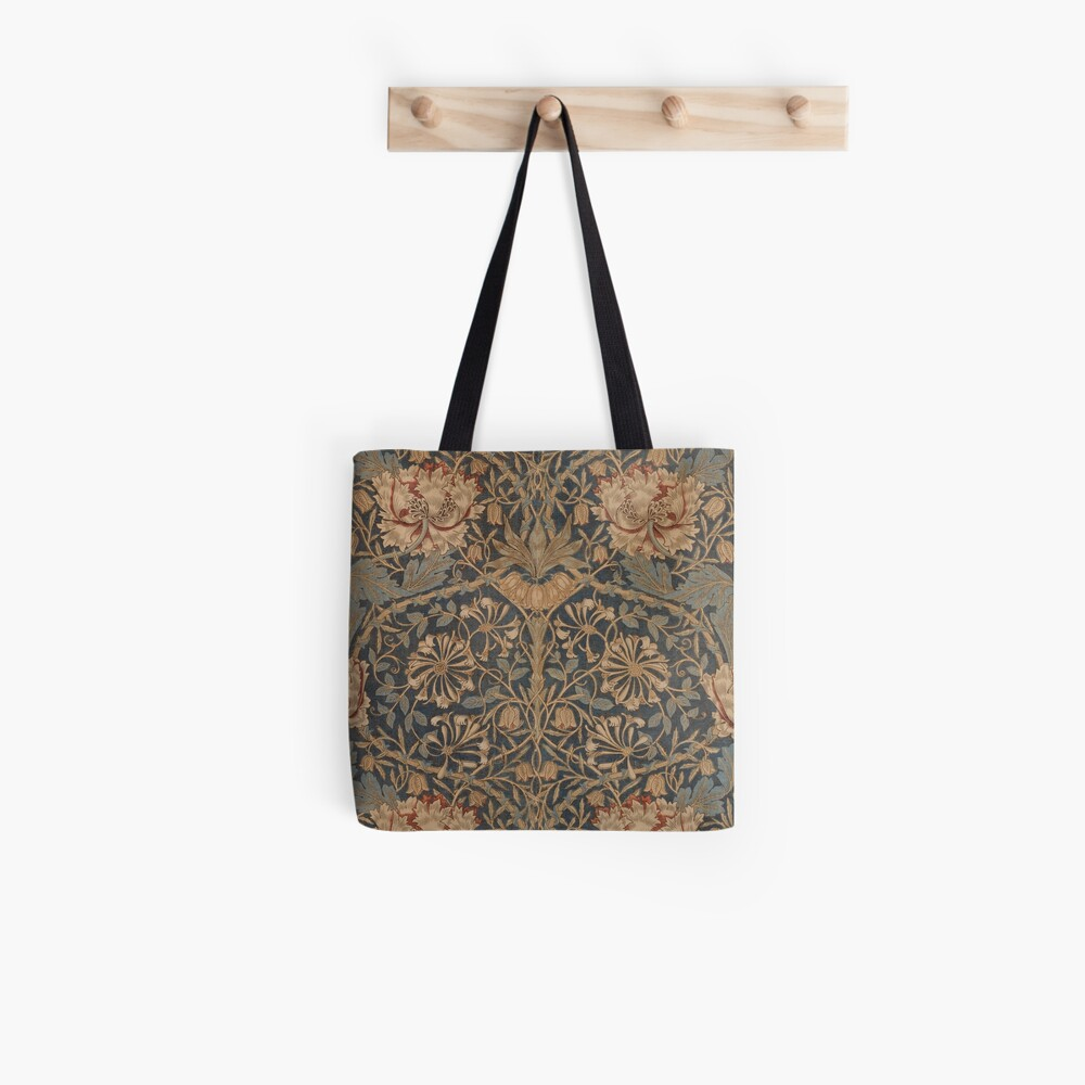 Honeysuckle by William Morris, 1876 Tote Bag
