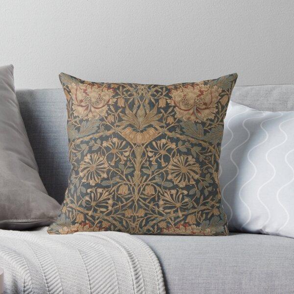Honeysuckle by William Morris, 1876 Throw Pillow