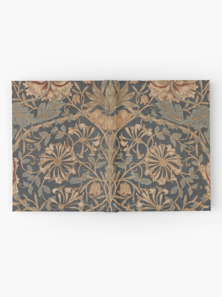 Alternate view of Honeysuckle by William Morris, 1876 Hardcover Journal