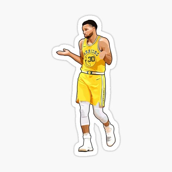 Steph Curry # 30 Pas mon problème Sticker