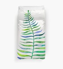 Palm Leaf – Green Palette Duvet Cover