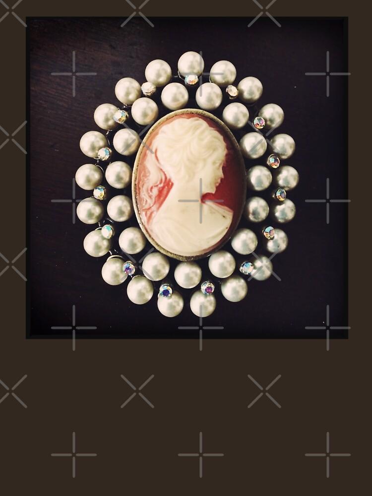 Classic Vintage Cameo - Art Photo - Jewelry Inspired Gift by OneDayArt