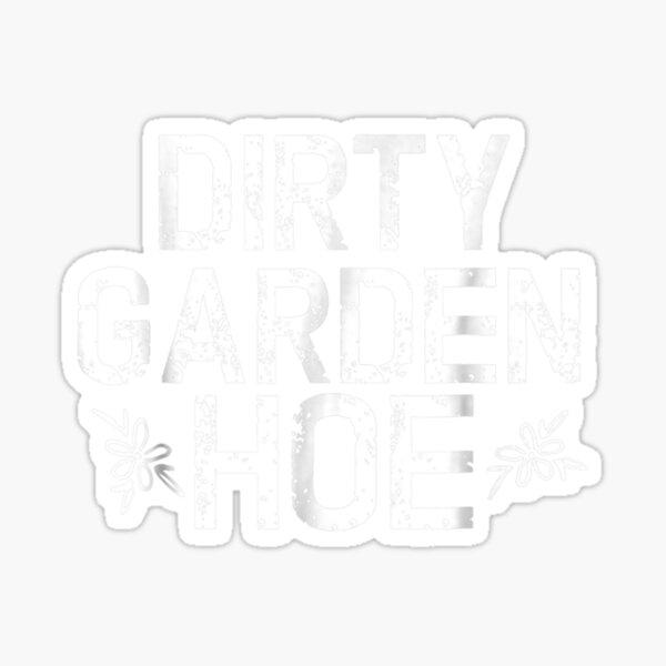 Lustiges Garten-T-Shirt Schmutz-Pflanzensamen-Mutter-Pflanzen-Nahrungsmittel-Wasser gehen Sticker