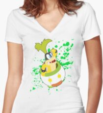 Iggy - Super Smash Bros Women's Fitted V-Neck T-Shirt